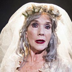 Linda Marlowe as Miss Havisham in Miss havisham's expectations written and directed by Di Sherlock