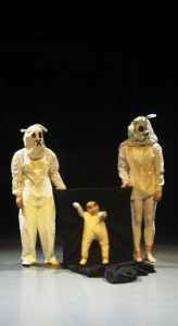 little man in strange forces NCCA directed by Peta Lily
