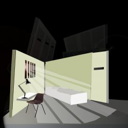 Macbeth set design for opening cell IYT