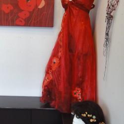 Miss Havisham photoshoot and Estella's ballgown